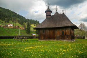 Primăvara în comuna Fundu Moldovei