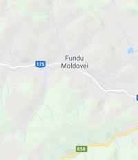 Localizare harta Comuna Fundu Moldovei